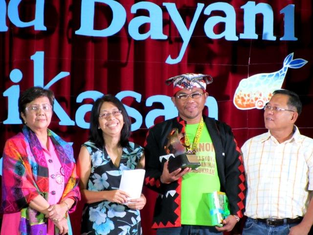 L-R: Gabriela Rep. Luzviminda Ilagan; Frances Quimpo of CEC; Datu Jomorito Guaynon of Kalumbay Regional Lumad Organization; Anakpawis Rep. Fernando Hicap.