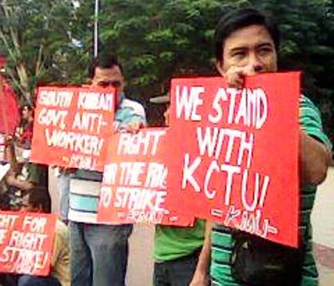 PH workers tell SoKor govt: Stop trade-union repression