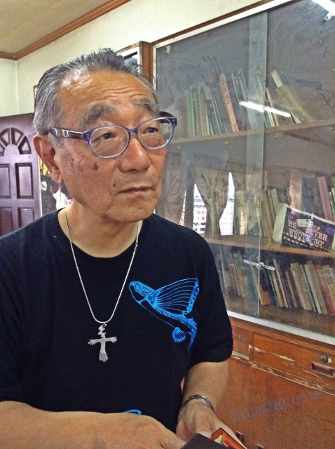 "Choi Seungkoo: ""It is a matter of life and death."" (Photo by M. Salamat / bulatlat.com)"