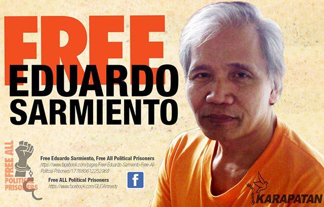 Political prisoner's conviction, a violation of due process – rights advocates