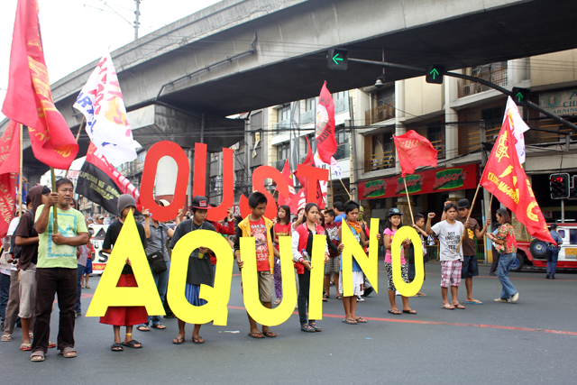 Peasants call for Aquino's ouster on 27th year commemoration of Mendiola massacre