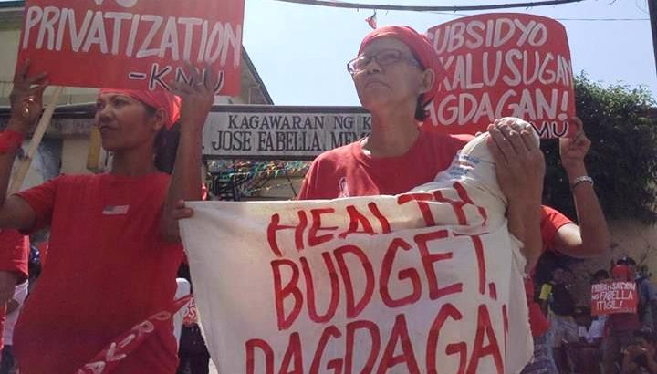 They dance vs. privatization of Fabella