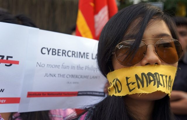 Online, offline protests vs Cybercrime Law mark EDSA I anniversary