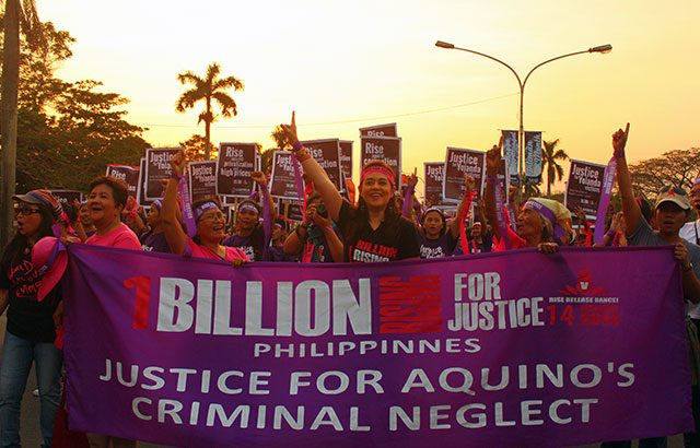 One billion rise for justice