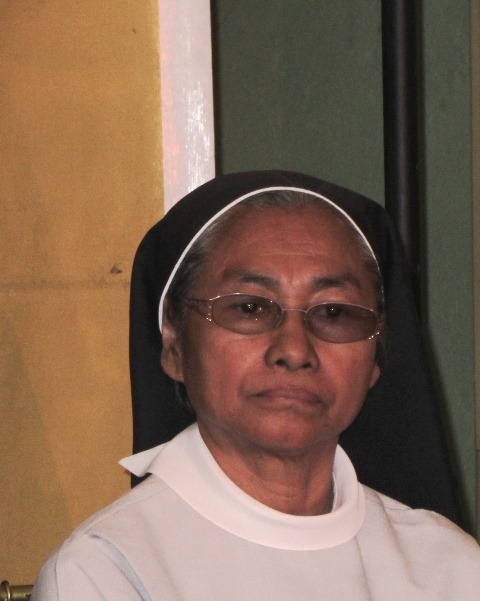 Benedictine nun Edita Eslopor, chairman of People Surge, an alliance of Yolanda victims, also lost her family home and a family member when Yolanda struck.