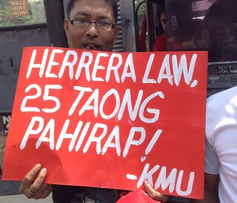 Herrera Law's war of attrition vs unions, workers condemned