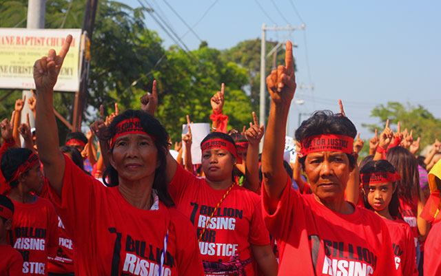Global campaign for justice takes up Luisita women's fight for land