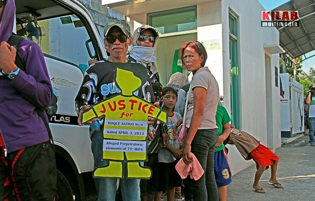 State soldiers' killing of Roque Antivo, 8, still without justice a year later