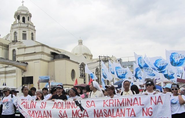 Yolanda victims seek support of Church in call for justice, assistance from gov't