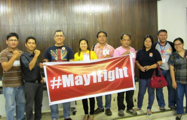 Workers, advocates take fight to social media #May1Fight hashtag