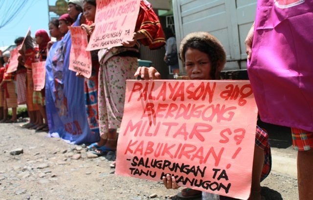 'CHR, inutile and absurd' – Manobo women