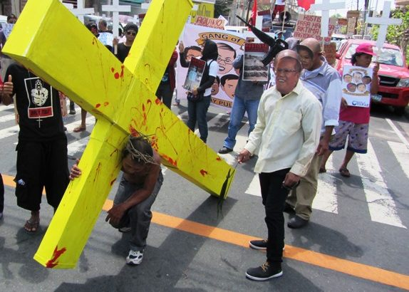 Yolanda survivors depict their sufferings under Aquino administation
