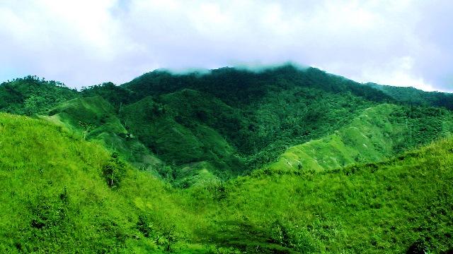 Part of Pantaron mountain range (Photo by Juland Suazo)