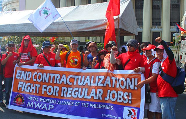 Workers, youth, other sectors march in thousands, slam Aquino's anti-labor policies