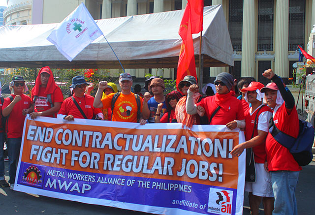 Netizens want wage hike, end to contractualization