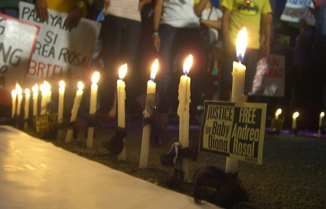Groups hold gov't accountable for death of Andrea Rosal's baby