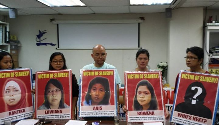Abused Filipino domestic helper in Hong Kong demands justice