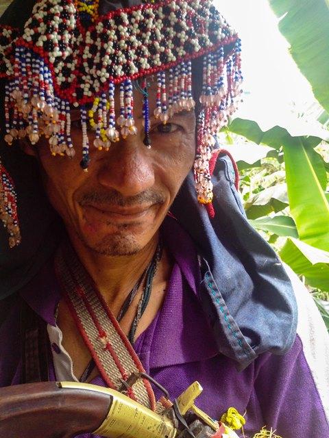 A guardian of Pantaron (Photo courtesy of Kalikasan PNE / Bulatlat.com)