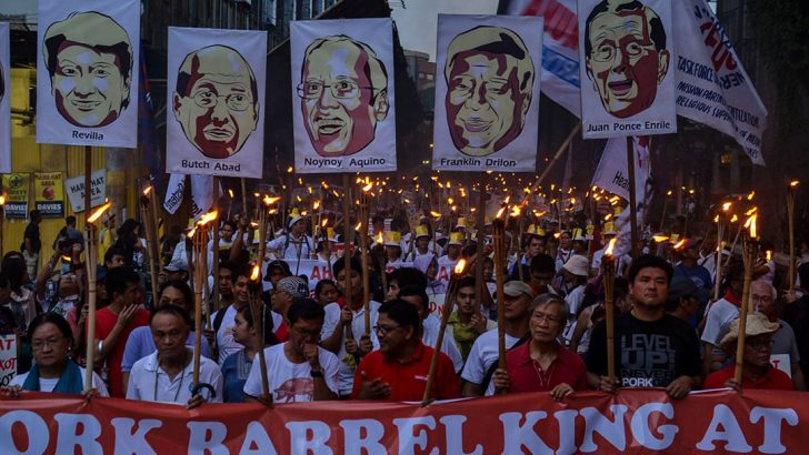 Anti-pork protest holds Aquino accountable