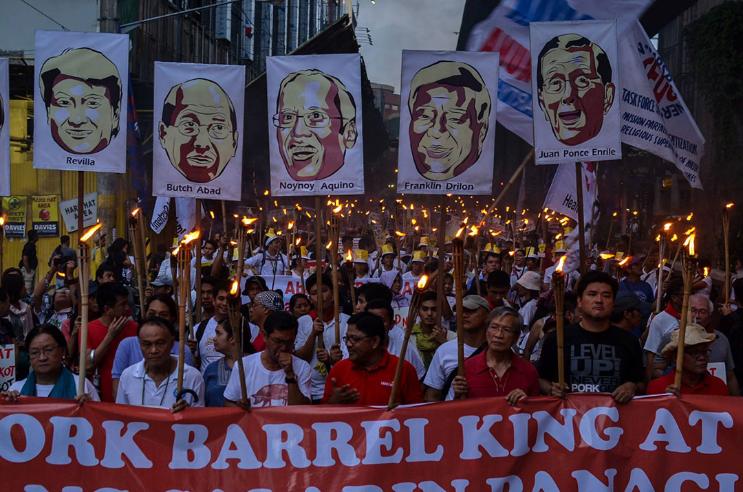 Anti-pork protest holds Aquino accountable