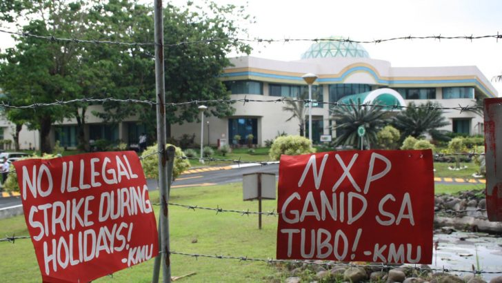 Global union calls for reinstatement of NXP unionists, completion of CBA