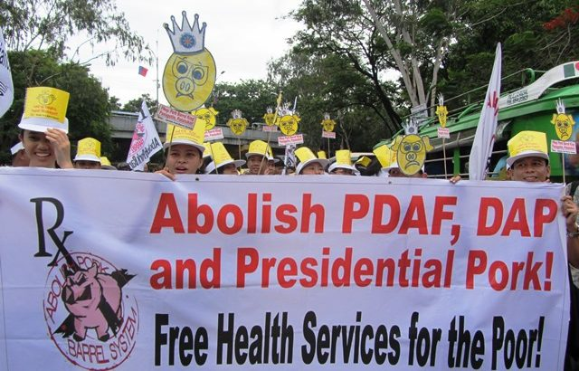 Health groups vow to make Aquino accountable, push People's Initiative vs Pork