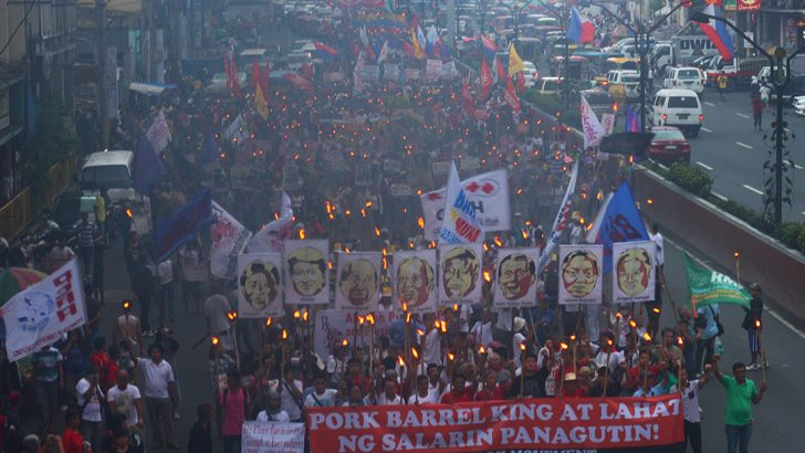 Protesters slam Aquino, call for 'freedom from corruption'