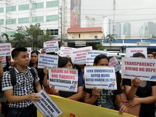 Muntinlupa teachers prevail in fight for rights to tenure