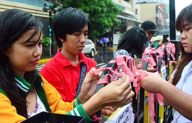 Betrayed, frustrated & disenchanted | Youth groups file impeachment rap vs Aquino