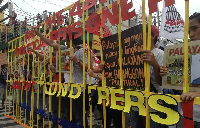 'Not just Gigi Reyes, give hospital care to ailing political detainees'