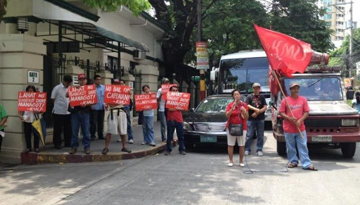 'Jail Kapunan, Enrile' – workers' group