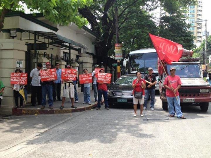 'Jail Kapunan, Enrile' – workers' group