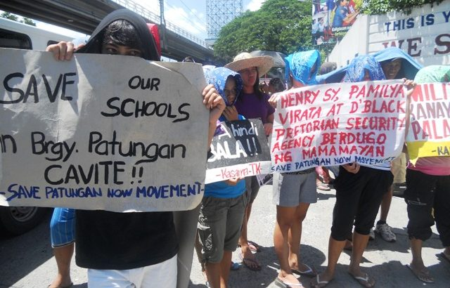 Two schools in Patungan, Cavite set to be demolished to give way to resorts
