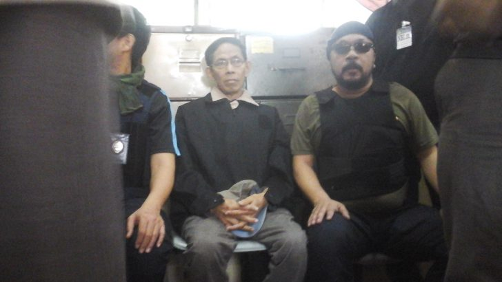 'Dead scared' Palparan finally arraigned, brought to Bulacan jail