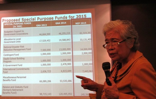 Congress has only 'power of the coin purse' due to pork in 2015 budget – former national treasurer