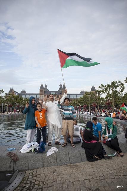 gaza-supporters-amsterdam-byjon (4)