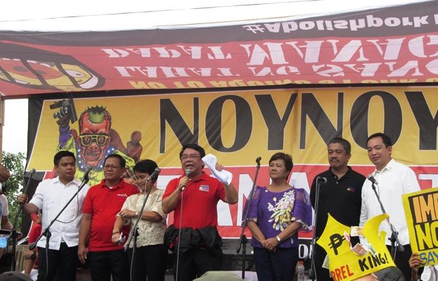 Makabayan bloc slams 'budget blackmail' by ruling party