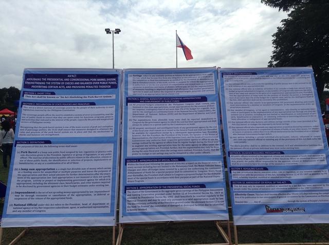 A copy of the People's Initiative Bill (Photo by J. Ellao / Bulatlat.com)