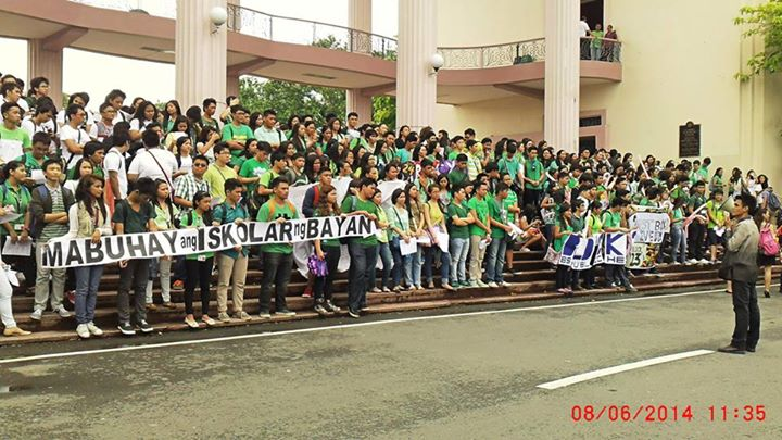 UP students open school year with protests vs commercialized education