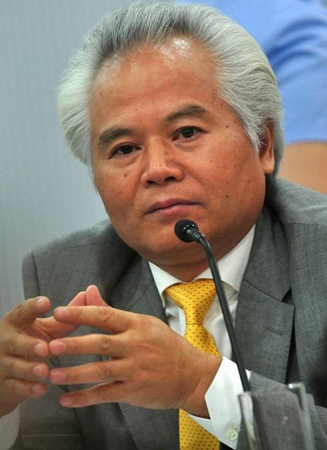 Wu Shicun, president of National Institute for South China Sea Studies (NISCSS) (Photo by Raymund B. Villanueva / Bulatlat.com)