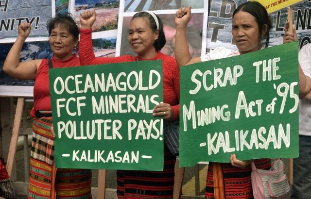 Indigenous peoples, environmentalists call for end to OceanaGold's 'mining plunder'