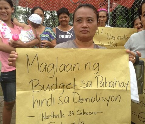 'Do you have a heart, Mr. President?'   Katuparan residents slam eviction threat