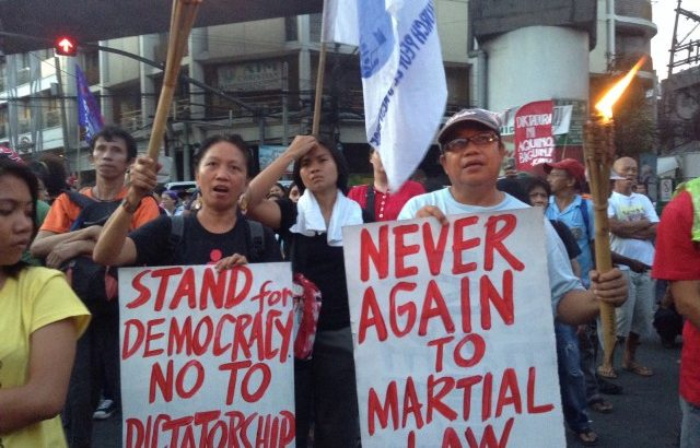 History teachers, activists teach the youth on the lessons of Martial Law