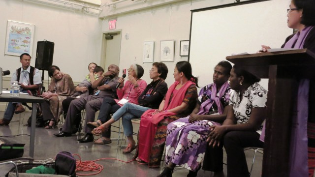'People's General Assembly' in NY calls for justice