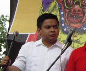 Kabataan Partylist Rep. Terry Ridon at Sona ng Bayan 2014 program