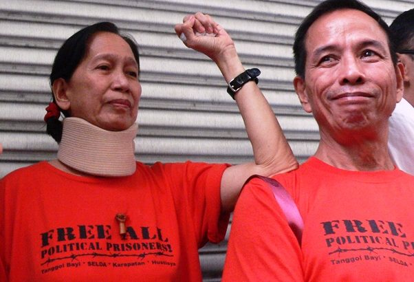Lawyers' group slams transfer of Tiamzon couple's hearing to 'police fortress'