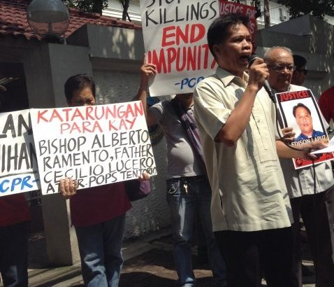 Justice department urged to conform with plea on Palparan's transfer to civilian detention