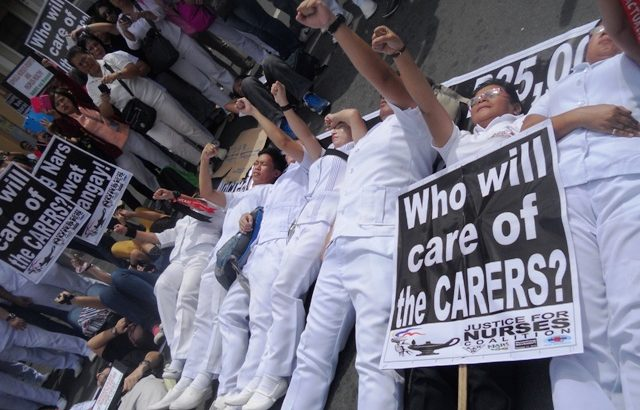 The worsening 'toxic' work condition of Filipino nurses