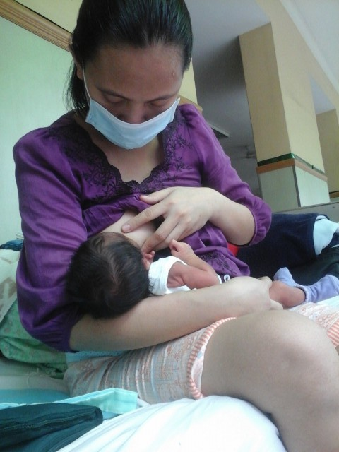 Political detainee Miradel Torres says she wants to take care of her newborn son (Photo by J. Ellao / Bulatlat.com)