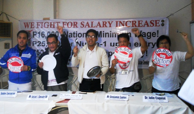 Feeling the crunch | Health workers join state employees call for salary hike